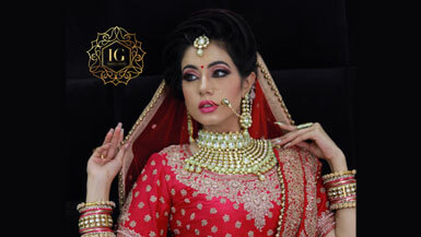 Bridal Makeup Services in Saraswati Vihar