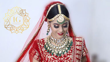 Wedding Makeup Services in Shalimar Bagh