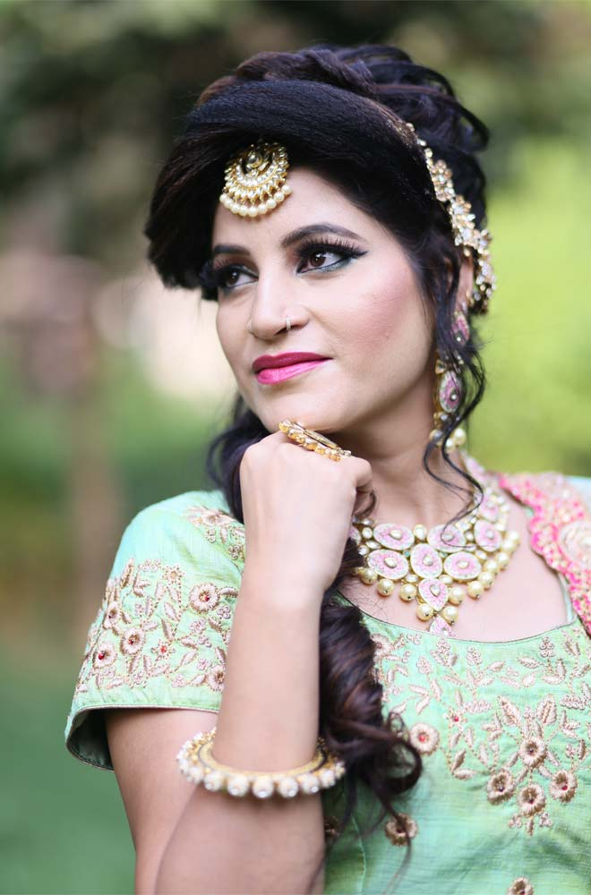 Airbrush Makeup Artist in Tilak Nagar