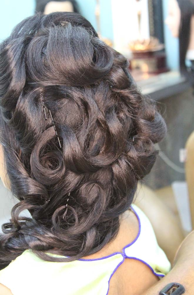 Hair Styling Services in Kohat Enclave
