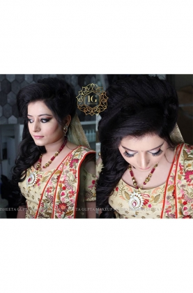 Engagement Makeup Artist in Karol Bagh