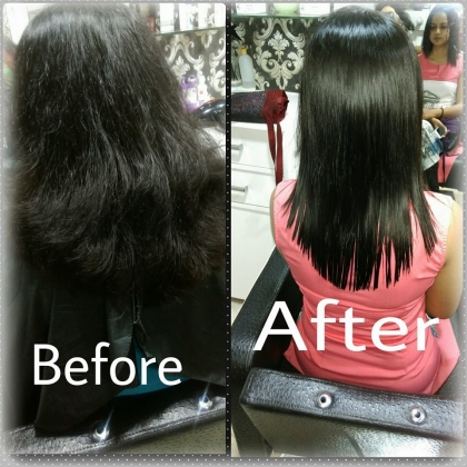 Hair Straightening Services in Saraswati Vihar