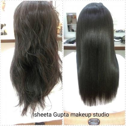 Hair Straightening Services in Pitampura, Delhi
