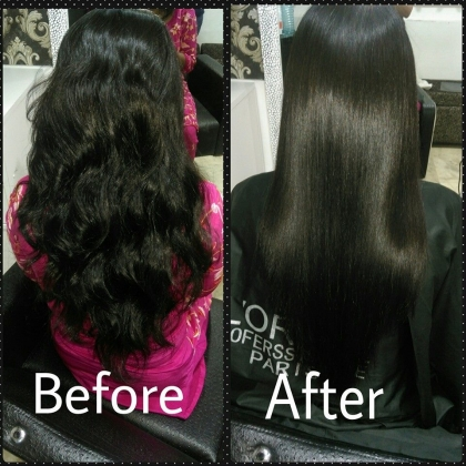 Hair Smoothening Services in Janak Puri