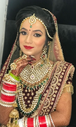 Bridal Makeup Artist in Shalimar Bagh