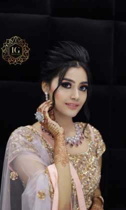 Engagement Makeup Artist in Punjabi Bagh