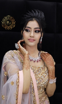 Engagement Makeup Artist in Rani Bagh