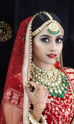 Wedding Makeup Artist in Saraswati Vihar